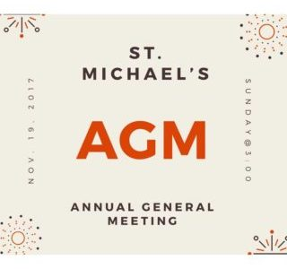 St. Michael's Annual General Meeting
